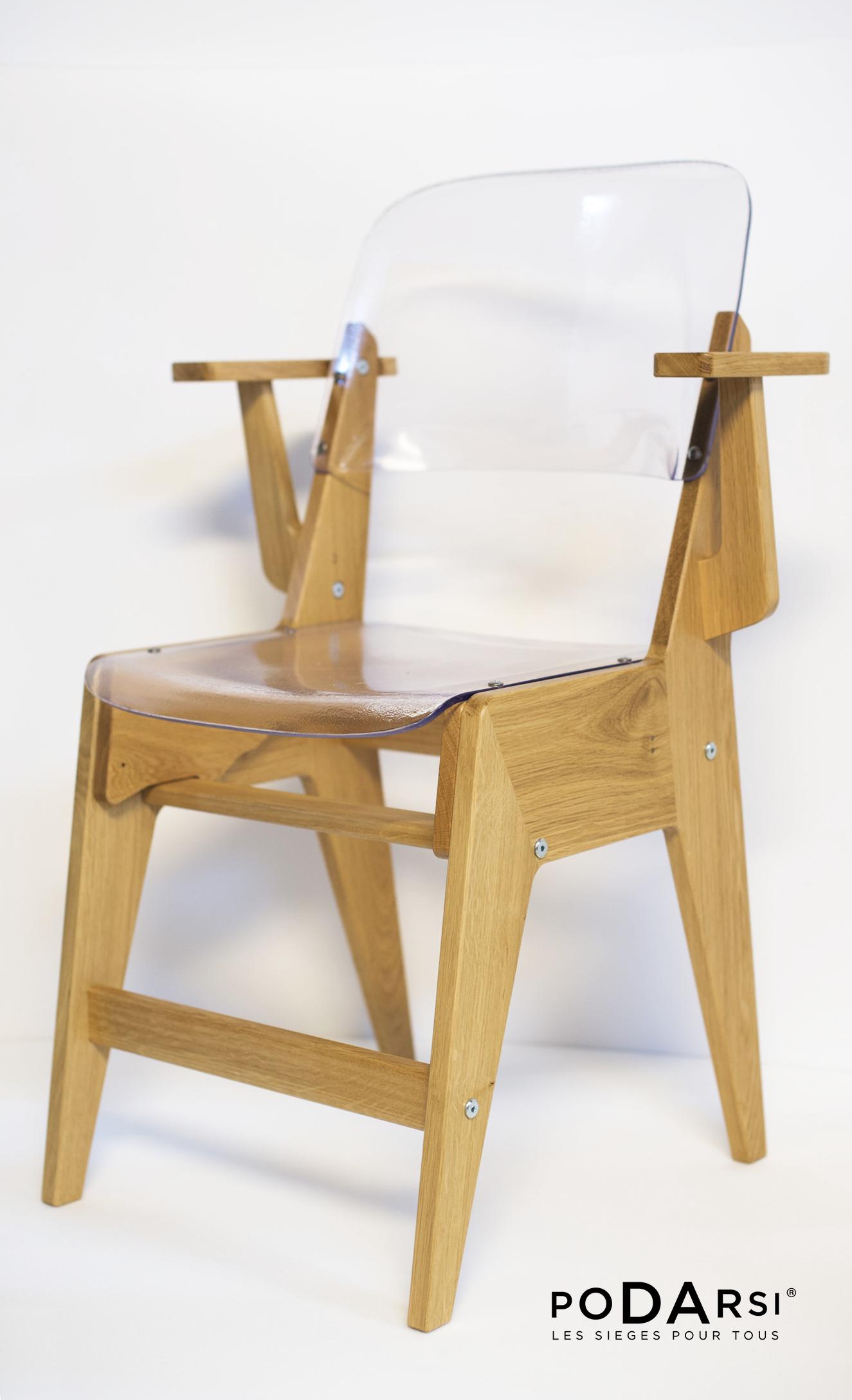 La Chaise Pour Tous Avec Accoudoirs Podarsi