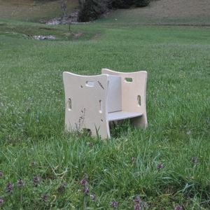 Le fauteuil évolutif Montessori «Maria»