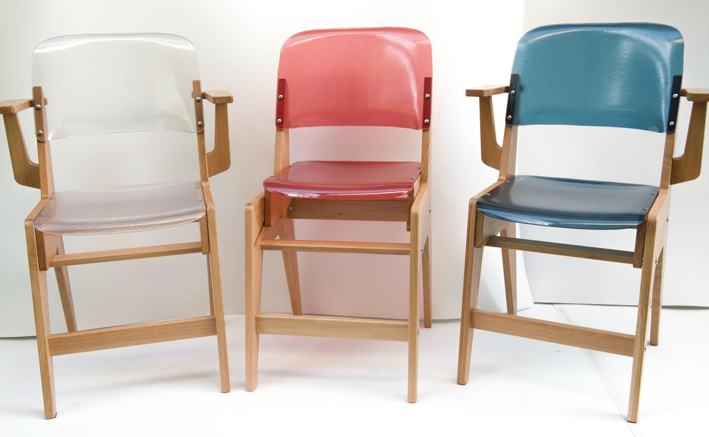 Notre chaise évolutive dans 3 coloris