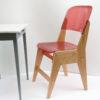 Chaise française en bois, made in Vercors