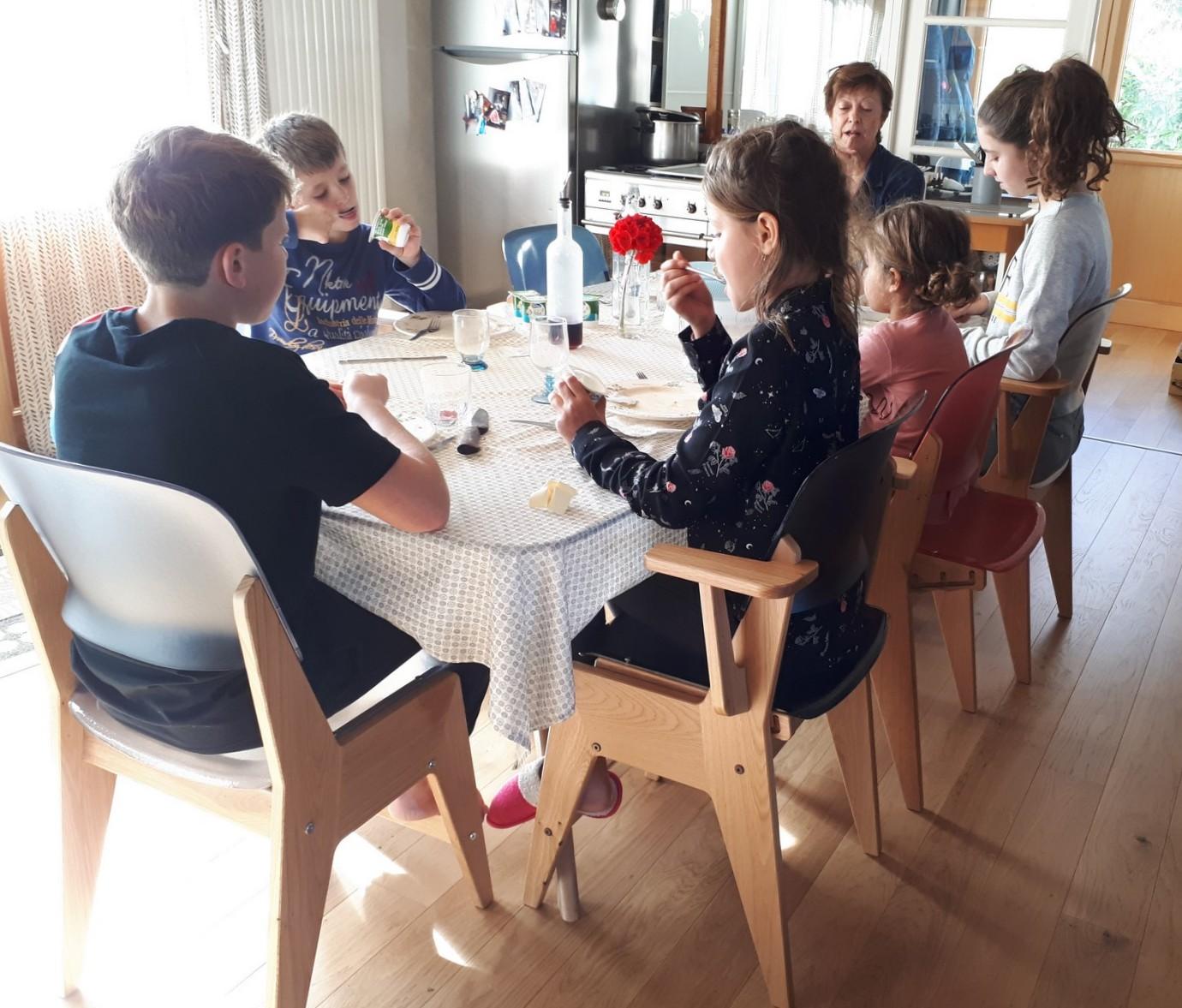 La chaise pour tous, pour toute la famille
